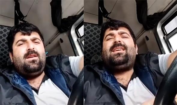 TIR şoförü Malik Yılmaz