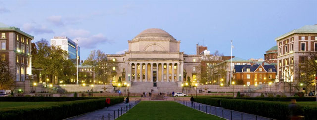 4.Columbia Üniversitesi Columbia University
