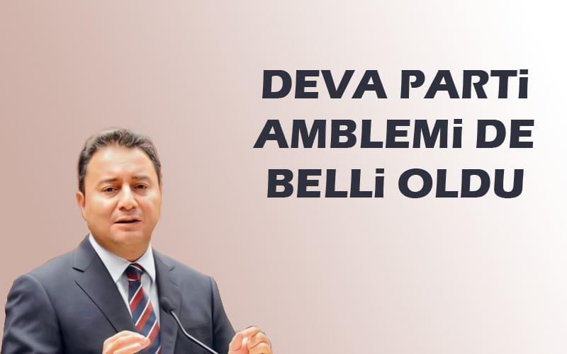Ali Babacan'ın partisi Deva Partisi logosu belli oldu