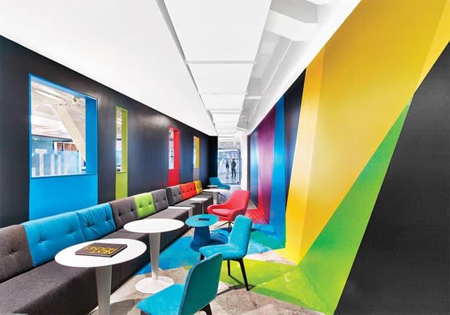 Google Çalışma Ofisinden Görünüm