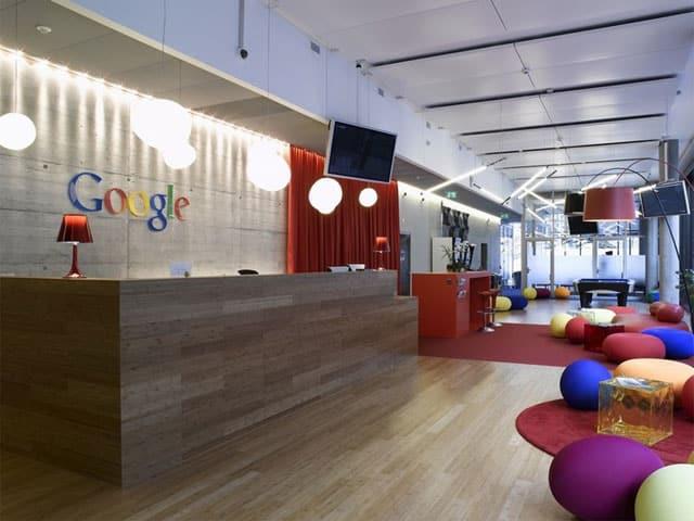 Google Ofisinden Görünüm