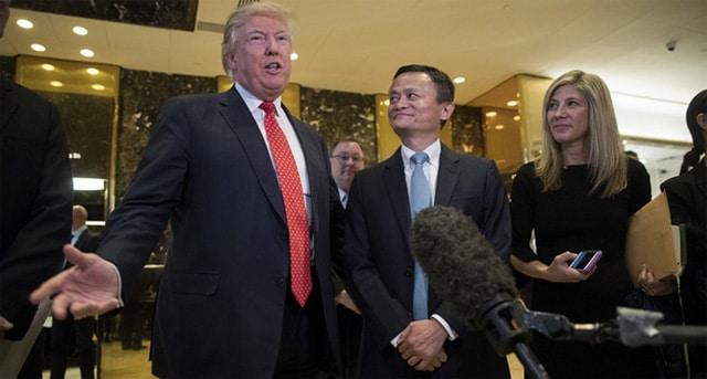 ABD Başkanı Trump ve Alibaba'nın kurucusu Jack Ma
