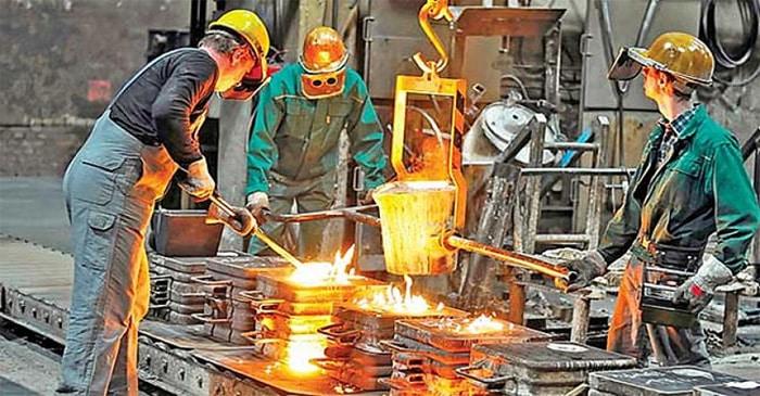 Sanayi üretimi yüzde 7.9 arttı