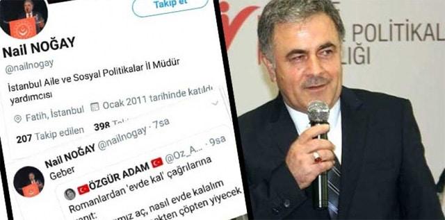 İstanbul Aile ve Sosyal Politikalar İl Müdür yardımcısı görevinde bulunda Nail Noğay,