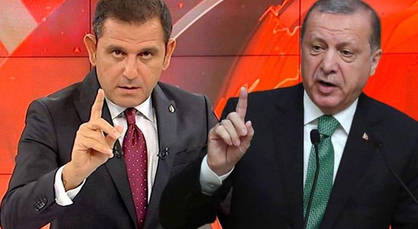 BDDK ve Cumhurbaşkanı Erdoğan, Fatih Portakal'a dava açtı
