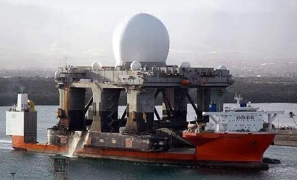 ABD'nin Haarp Gemisi Çanakkale'ye demir attı