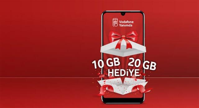 Vodafone bedava internet kampanyası 2020