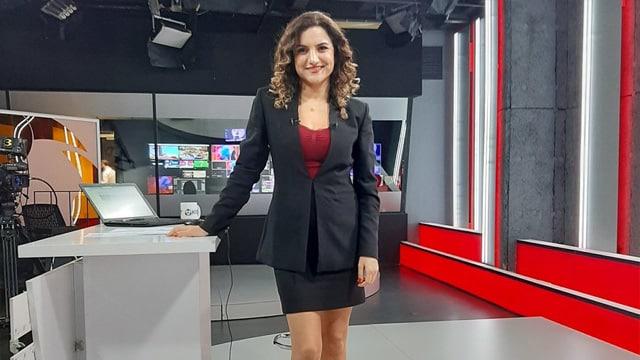 Gazeteci Saygı Öztürk, Sunucu Çiğdem Akdemir