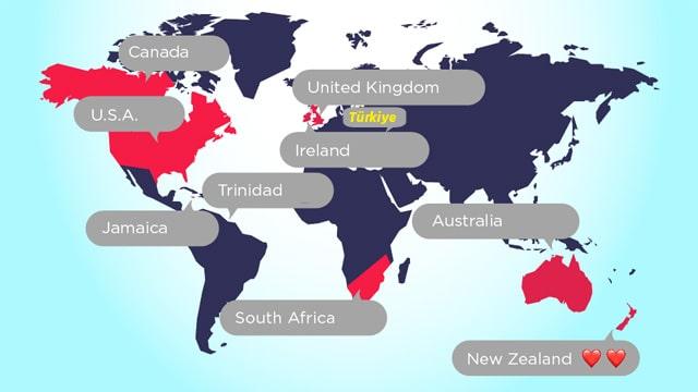 Hangi ülkede en çok hangi emoji kullanılıyor?