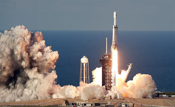 90 milyon dolarlık Falcon Heavy uzay aracı