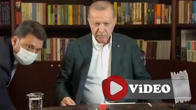 """Cumhurbaşkanı Erdoğan yayın öncesi: """"Murat böyle mi duracak? Göbek çıksın"""""""