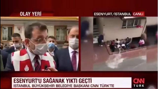 Ekrem İmamoğlu'na soru soran CNN Türk muhabiri sosyal medyada gündem oldu!