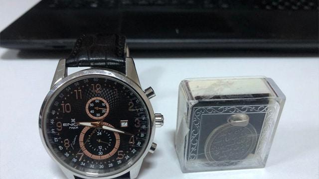 Fethullah Gülen imzalı saati onu ele verdi!