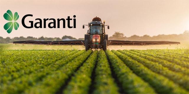 Garanti Bankası Hasat Ödemeli Tarımsal Finansmanı