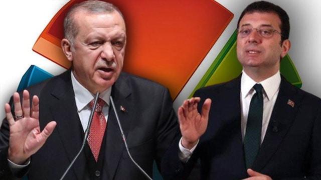 """""""Erdoğan mı İmamoğlu mu?"""" anketinden çıkan sonuç herkesi şaşırttı"""