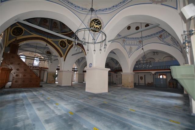Kastamonu'daki Nasrullah Camii'nin sonraki hali