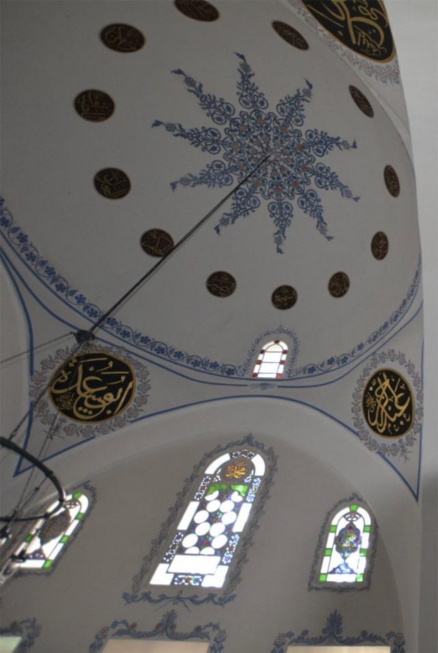 Kastamonu'daki Nasrullah Camii'nin badanalanmış hali