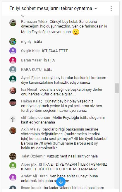 Canlı yayında Metin Feyzioğlu'na tepki yorumları