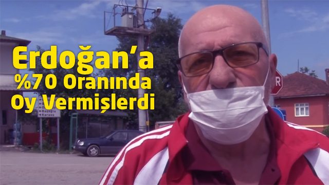 Erdoğan'a yüzde 70 oranında oy veren Sakaryalı çiftçiler isyan etti!