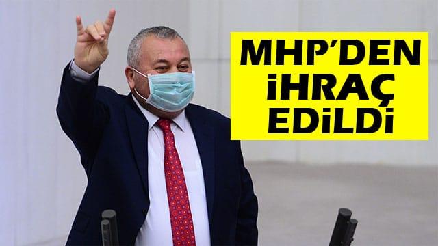 Cemal Enginyurt, MHP'den ihraç edildi