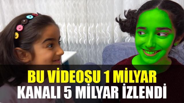 Türkçe yayın yapan Youtube kanalı 5 milyar izlendi