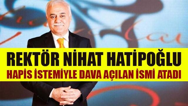 Gaziantep İslam Bilim ve Teknoloji Üniversitesi Rektörü Nihat Hatipoğlu