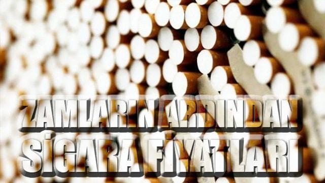 Temmuz 2020 Sigara fiyatları listesi