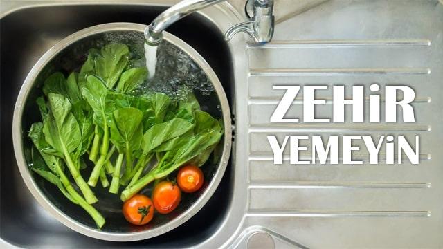Türkiye'deki sebzelerde zehir tespit edildi!