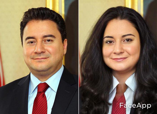 Ali Babacan kadın hali