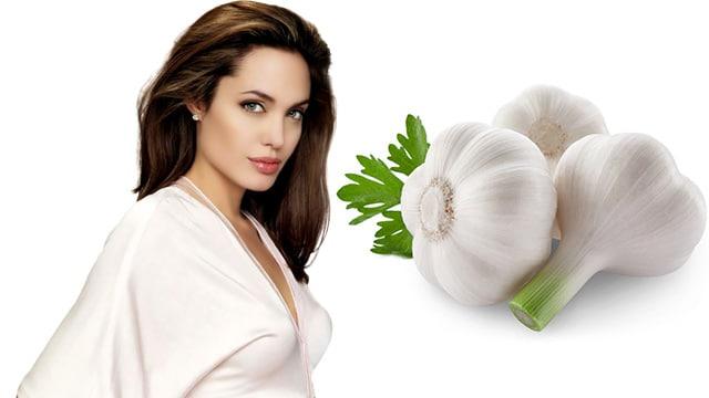 Angelina Jolie bu sarımsaklı çay ile zayıfladı