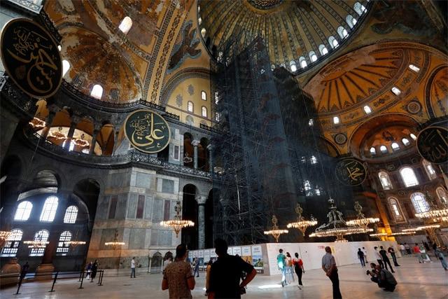 Ayasofya Camii Kararı Dünya Basınında
