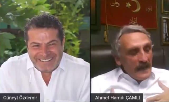 Cüneyt Özdemir Ak Partili vekili yayına alınca gülme krizine girdi!