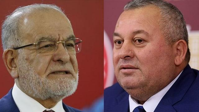 MHP'li Cemal Enginyurt'tan Saadet liderine 'katil' benzetmesi