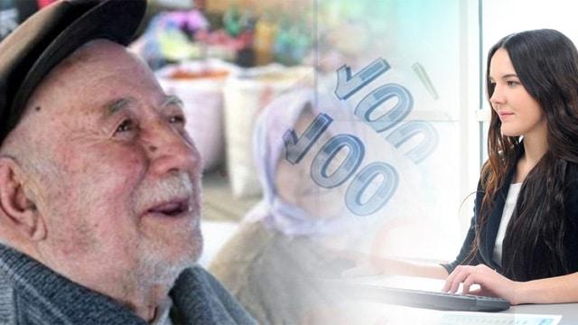 Emeklilere 581 lira kira yardımı, memurlara bin 500 TL ikramiye