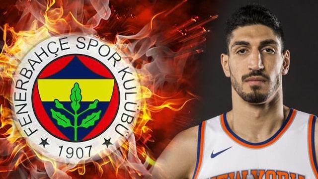 FETÖ ile anılan Enes Kanter'e Fenerbahçe'den tepki!