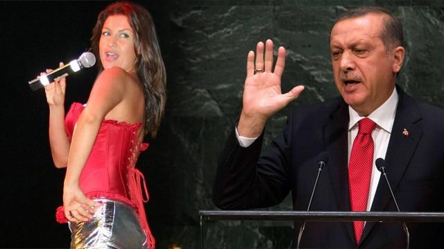 Tuğba Ekinci'den atarlı Erdoğan paylaşımı