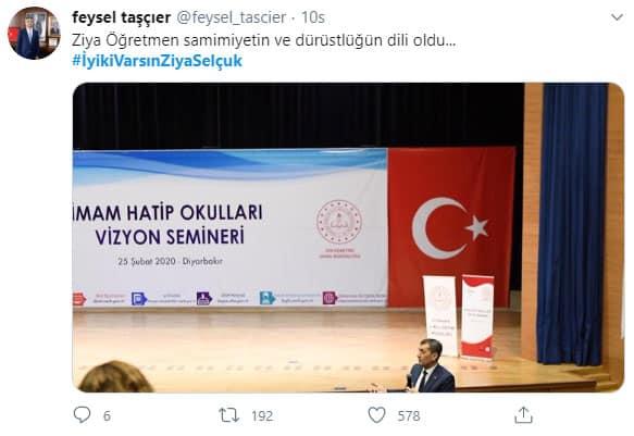 Diyarbakır İl Milli Eğitim Müdürü Feysel Taşçıer