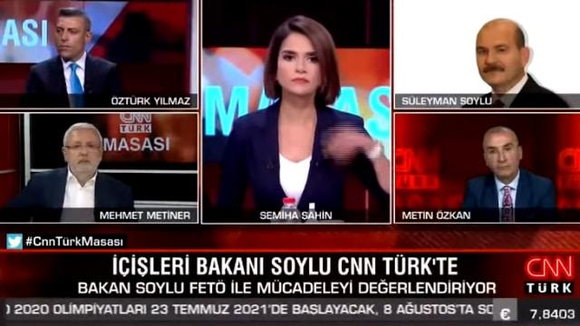 Bakan Süleyman Soylu Mehmet Metiner video