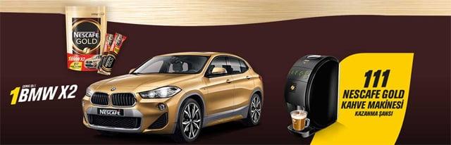 416.945 kişinin katıldığı Nescafe Gold BMW X2 12. dönem çekiliş sonuçları asil ve yedek talihlileri