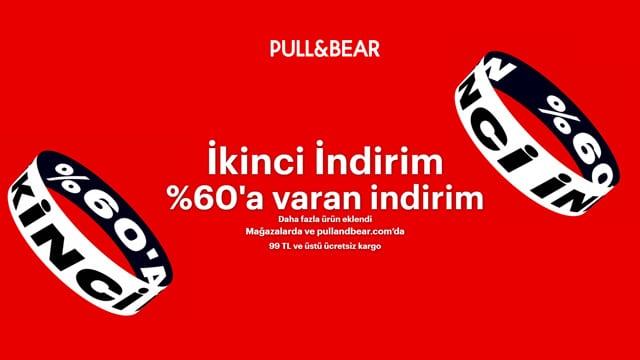 Pull and bear yaz indirimi