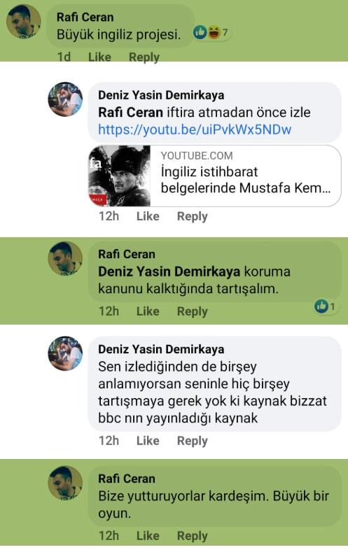 Atatürk'e hakaret eden Astsubay Rafi Ceran