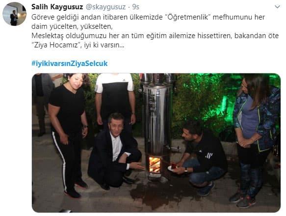 Erzurum İl Milli Eğitim Müdürü Salih Kaygusuz
