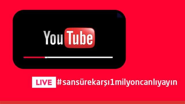 Ekşi Sözlük'te #sansürekarşı1milyoncanlıyayın kampanyası başlatıldı