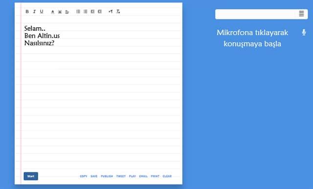 Yazıyı Sese Çevirme Siteleri