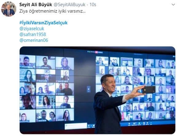 Konya İl Milli Eğitim Müdürü Seyit Ali Büyük