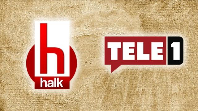 RTÜK, oyçokluğu ile aldığı kararla Halk TV ve TELE 1'i 5'er gün kapattı