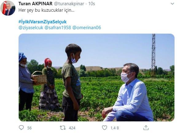 Ankara İl Milli Eğitim Müdürü Turan Akpınar