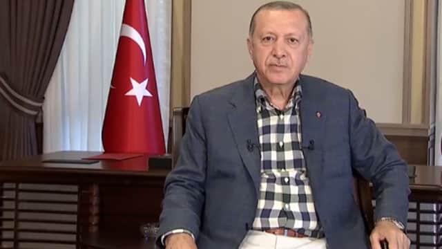Cumhurbaşkanı Erdoğan ne diyeceğini bilemedi!