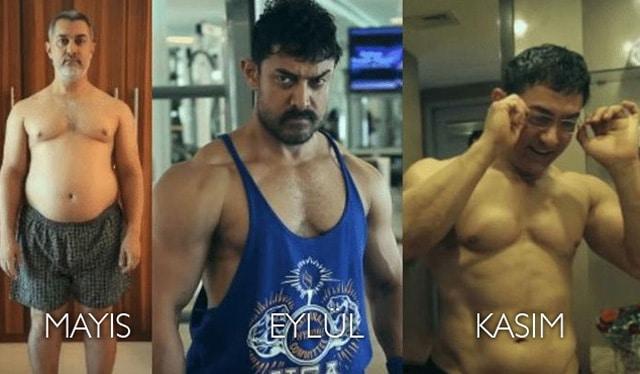 Aamir Khan'ın Diyet ve Fitness Planı