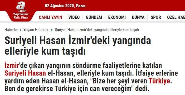 Suriyeli Hasan haberi